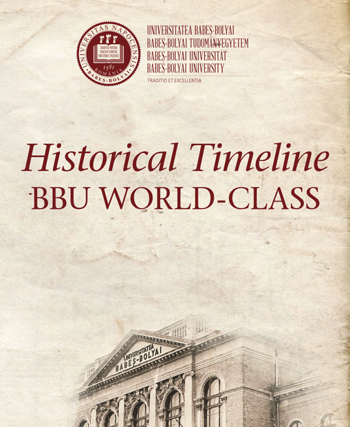 Historical Timeline BBU WORLD-CLASS